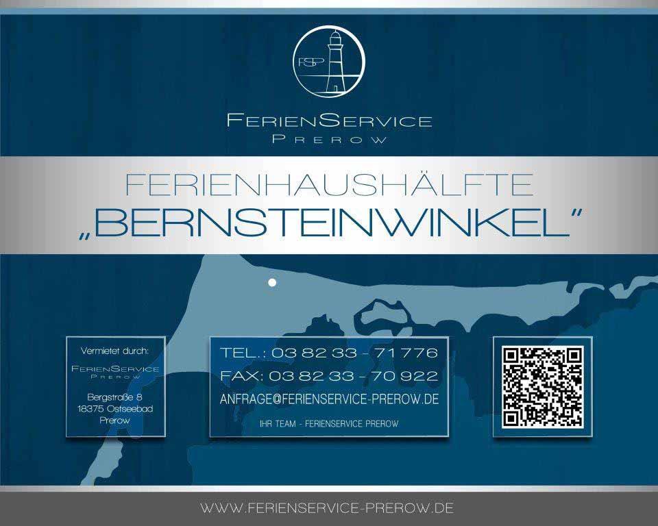 Prerow Ferienhaus Bernsteinwinkel - Ferienservice Prerow, Hagenstr. 4 18375 Ostseebad Prerow