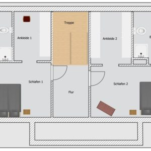 Prerow Ferienhaus Plan B - Ferienservice Prerow, Lange Str. 92 D 18375 Ostseebad Prerow