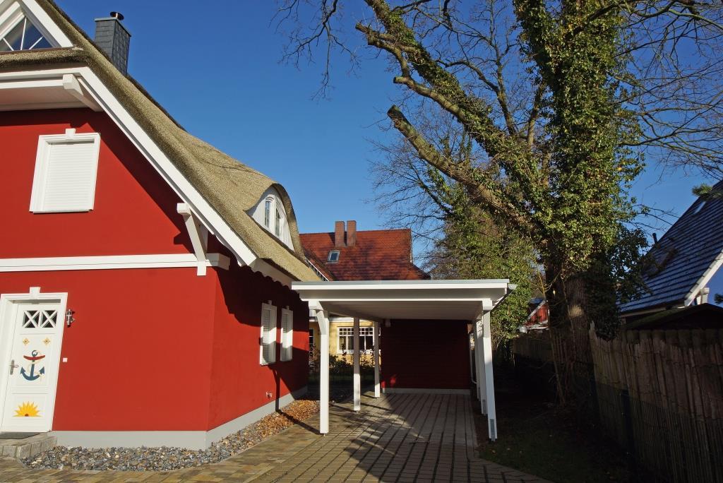 Prerow Ferienhaus OstseeBrise - Ferienservice Prerow, Waldstr. 45 B 18375 Ostseebad Prerow