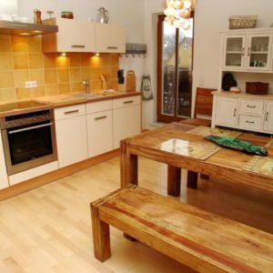 Prerow Ferienwohnung Dünengras - Ferienservice Prerow Küche