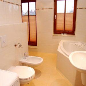 Prerow Ferienwohnung Dünengras - Ferienservice Prerow Bad WC