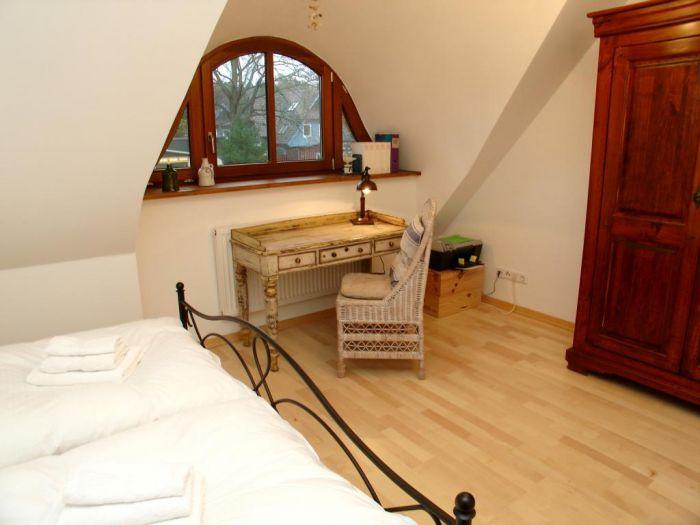 Prerow Ferienwohnung Dünengras - Ferienservice Prerow Schlafzimmer 2.1