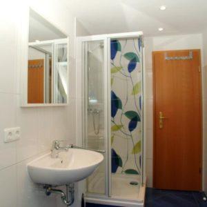 Prerow Ferienwohnung Darß Romantik - Ferienservice Prerow Bad Dusche
