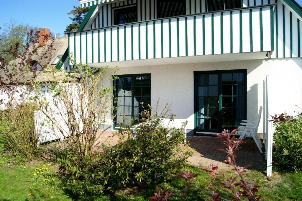 Prerow Ferienwohnung Joles Hus - Ferienservice Prerow Terrasse