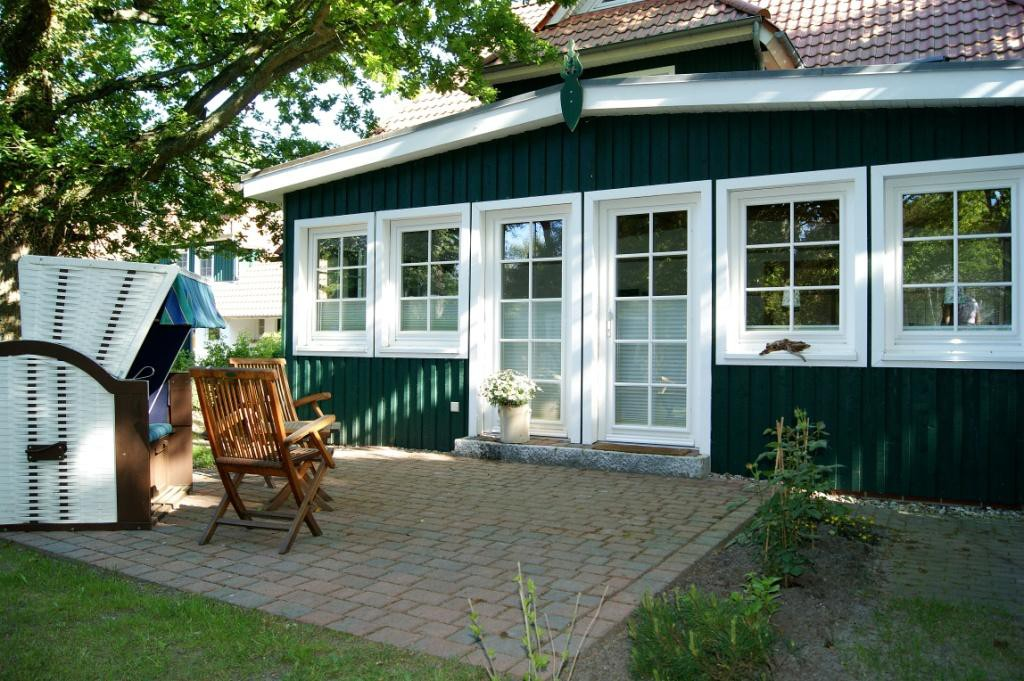 Prerow Ferienwohnung Darß Romantik - Ferienservice Prerow Eingang