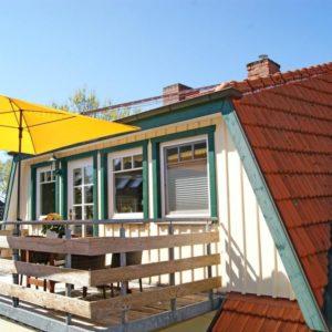 Prerow Ferienwohnung Carla - Ferienservice Prerow Balkon