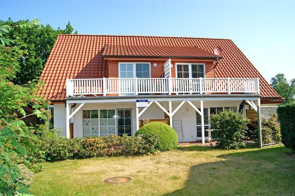 Ferienwohnung Solaris - Ferienservice Prerow Balkon