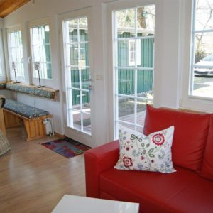 Prerow Ferienwohnung Darß Romantik - Ferienservice Prerow wohnen Eingang