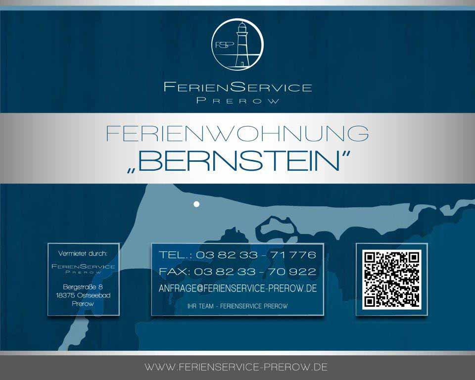 4 Prerow Ferienwohnung Bernstein - Ferienservice Prerow, Grüne Straße 27 G 18375 Ostseebad Prerow