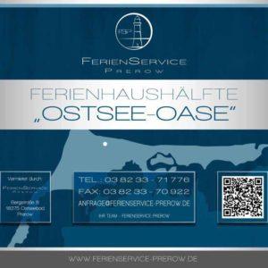 Prerow Ferienhaus Ostsee Oase - Ferienservice Prerow