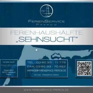 Prerow Ferienhaus Sehnsucht - Ferienservice Prerow, Hafenstraße 39 F 18375 Ostseebad Prerow, Deutschland