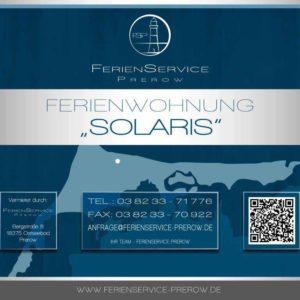 Ferienwohnung Solaris - Ferienservice Prerow