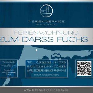 Prerow Ferienwohnung Zum Darß Fuchs 1 - Ferienservice Prerow, Stückweg 38 D 18375 Ostseebad Prerow