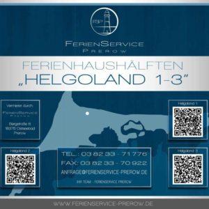 Prerow Ferienhaus Helgoland 1 - Ferienservice Prerow, Lange Straße 3118375 Ostseebad Prerow