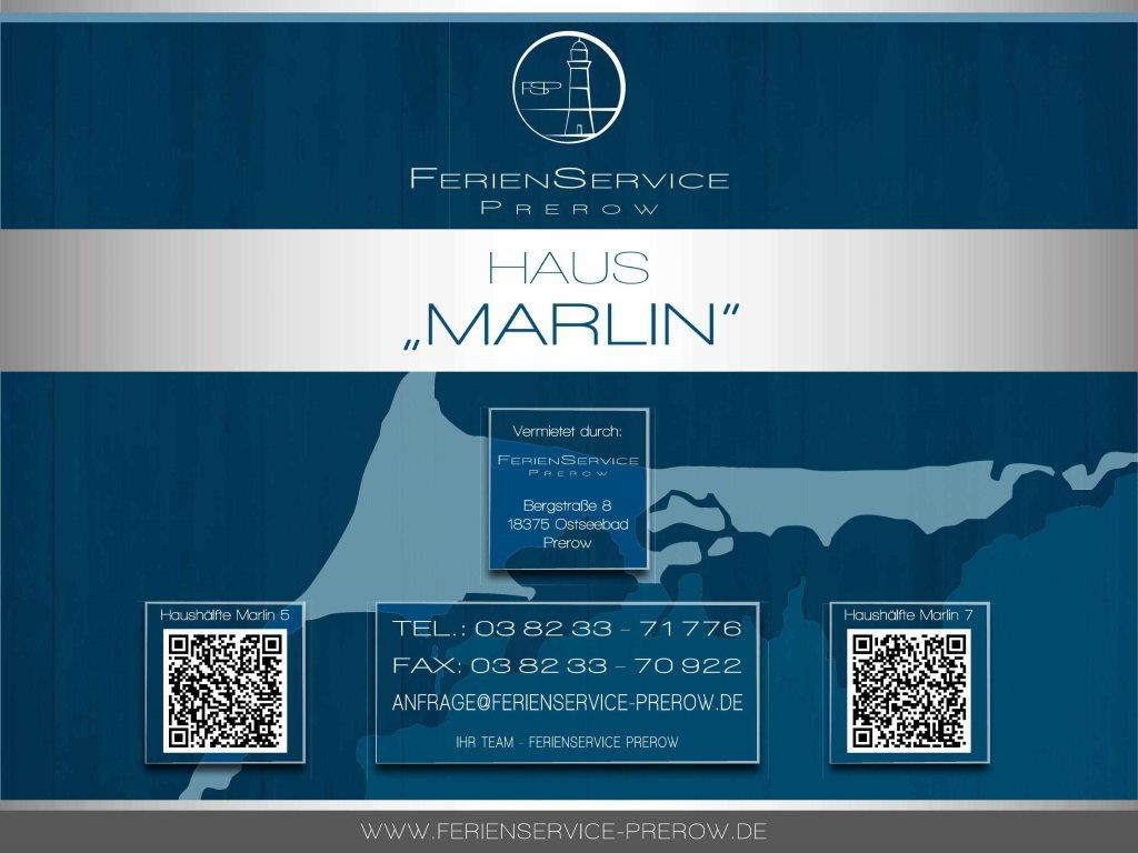 Prerow Ferienhaus Marlin 5 - Ferienservice Prerow, Am Zentral 5 18375 Ostseebad Prerow