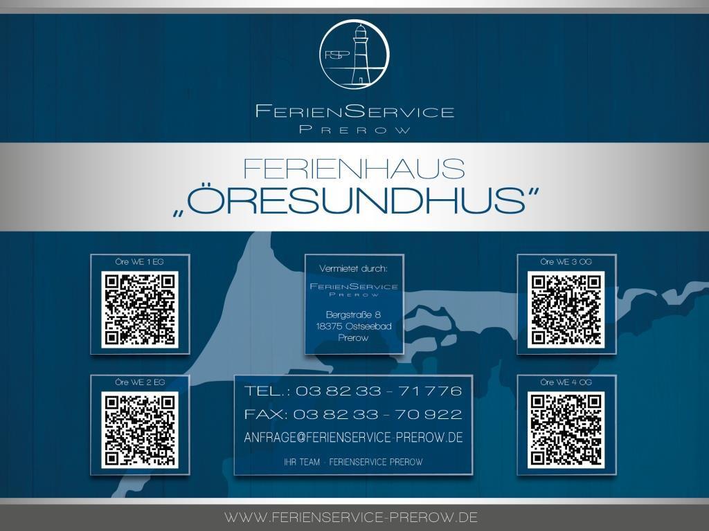 18 Prerow Ferienwohnung Öresundhus WE 3 OG - Ferienservice Prerow, Am Zentral 18 18375 Ostseebad Prerow