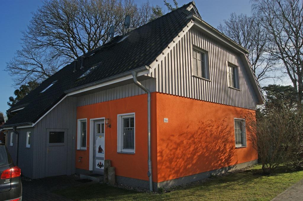 Prerow Ferienhaus Adlerfarn - Ferienservice Prerow, Hafenstraße 39 18375 Ostseebad Prerow