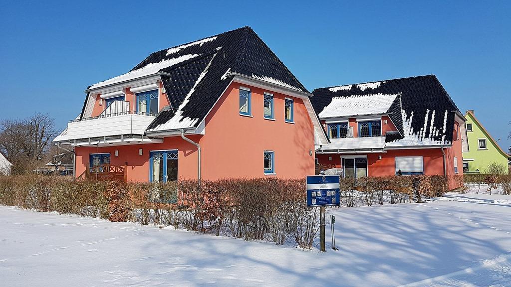 Prerow Ferienwohnung Kabri Swea Rike EG - Ferienservice Prerow Winter