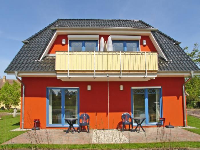Prerow Ferienwohnung Kabri Philipp OG - Ferienservice Prerow Balkon