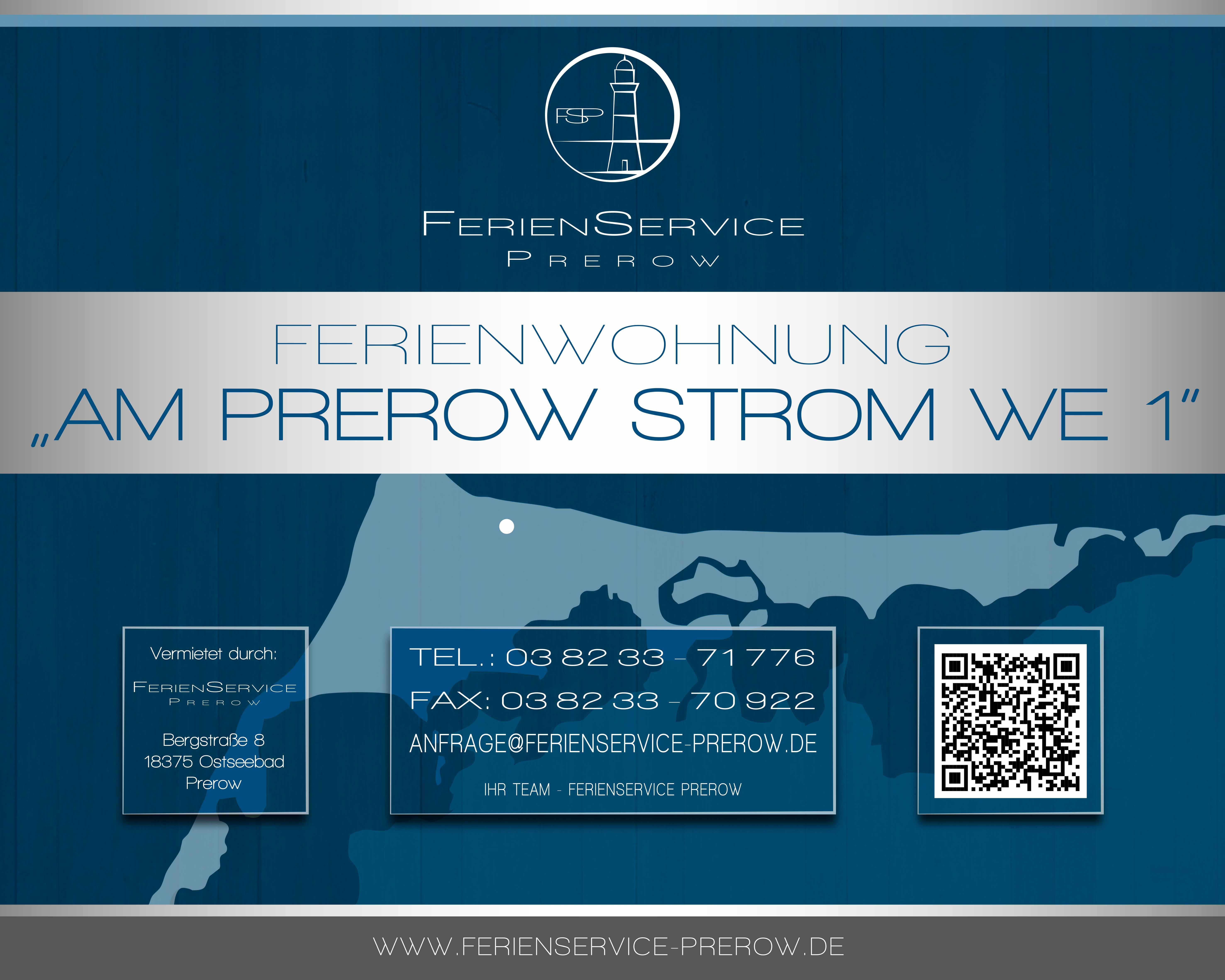 2 Prerow Ferienwohnung Am Prerowstrom - Ferienservice Prerow, Krabbenort 8 18375 Ostseebad Prerow