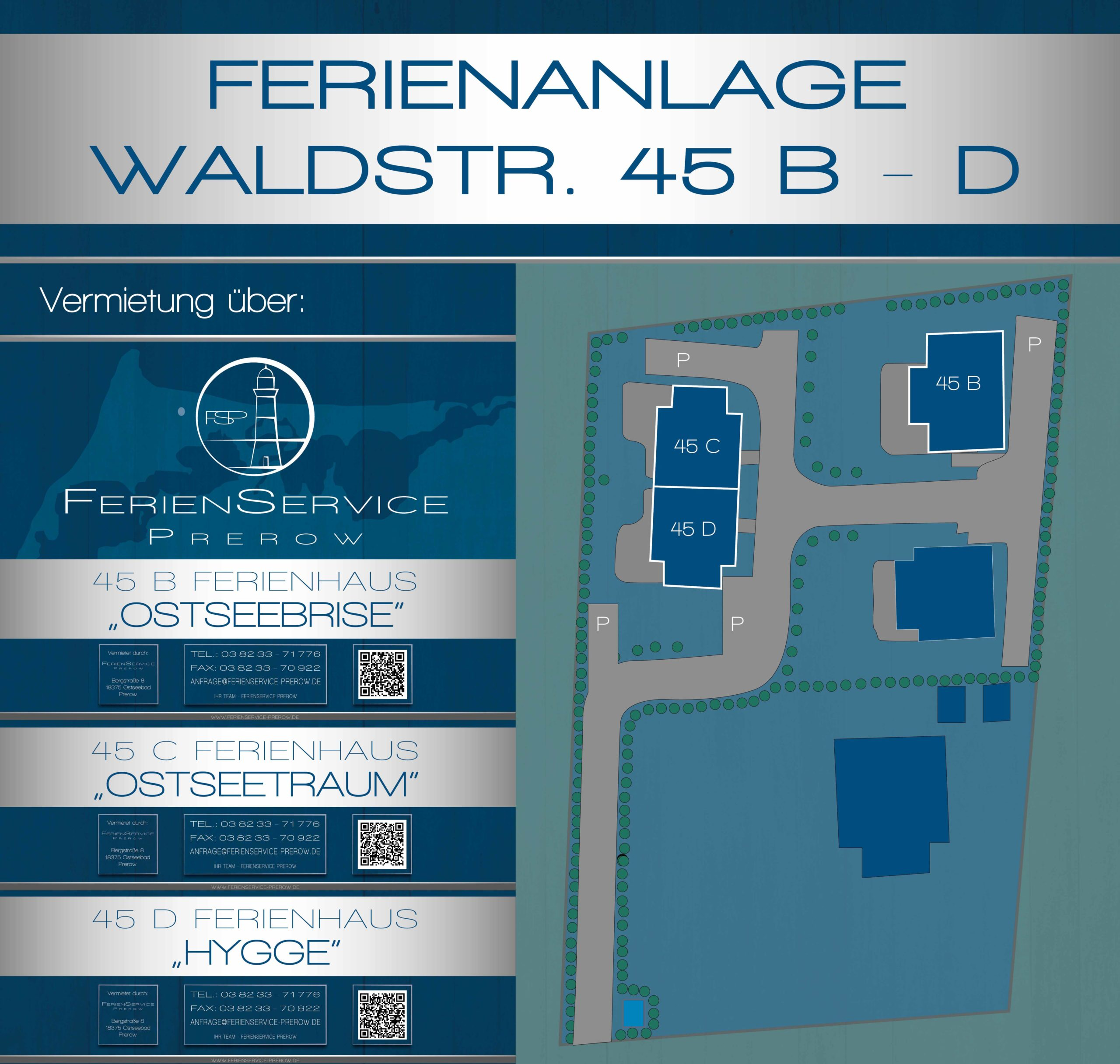 Prerow Ferienhaus OstseeTraum - Ferienservice Prerow, Waldstr. 45 C 18375 Ostseebad Prerow
