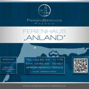 Prerow Ferienhaus AnLand - Ferienservice Prerow
