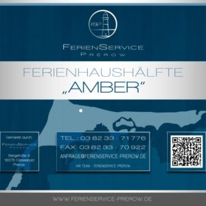 DG Prerow Ferienhaus Amber - Ferienservice Prerow, Bebel Straße 6b 18375 Ostseebad Prerow