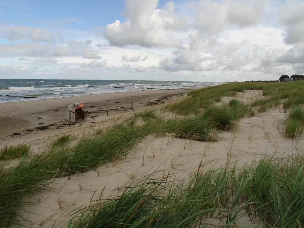 Prerow Strand Herbst 2012