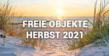 Freie Objekte Herbst 2021 Feriensevice Prerow